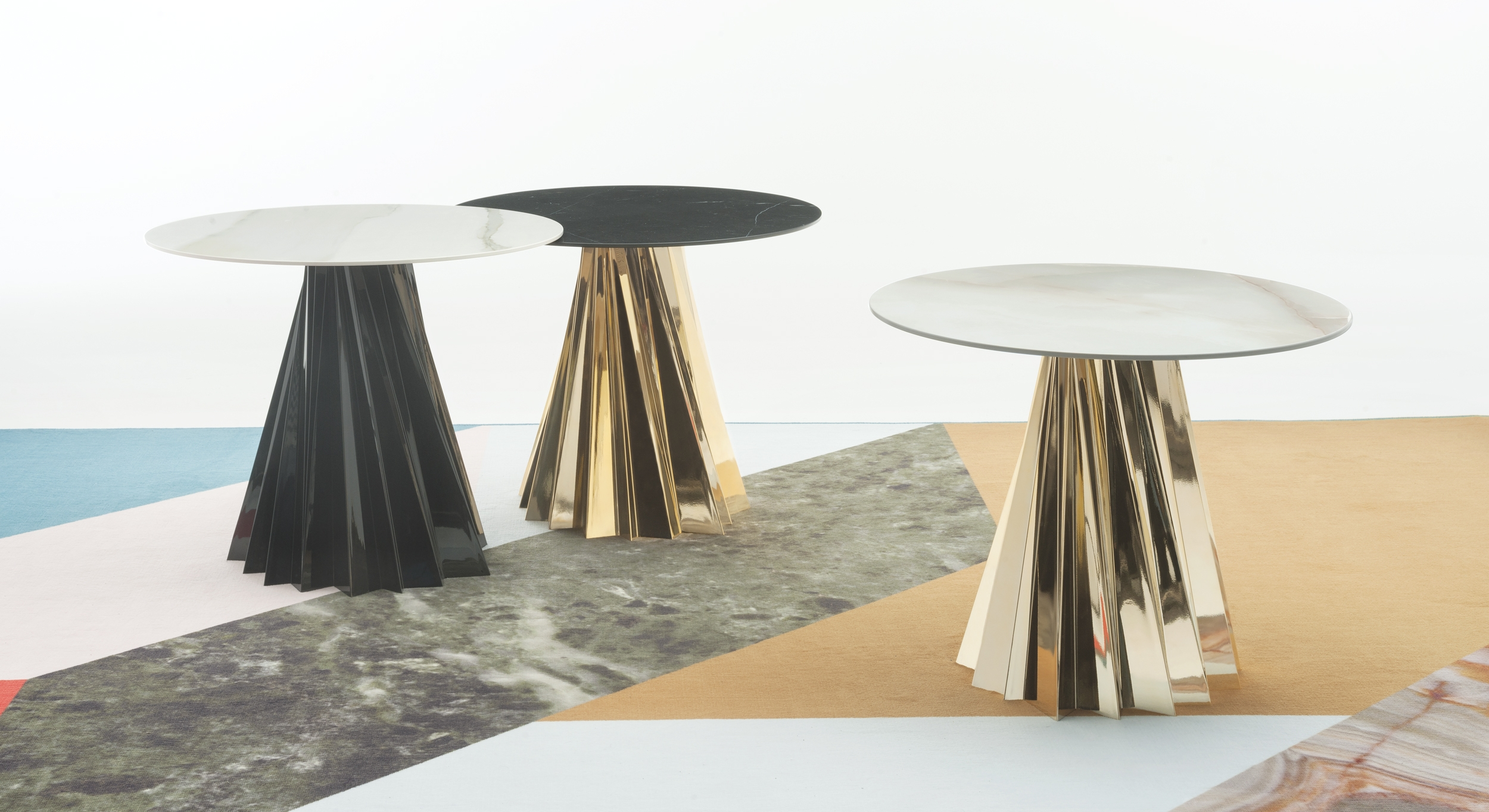 The Shanghai coffee table by Mario Bellini for Kartell.