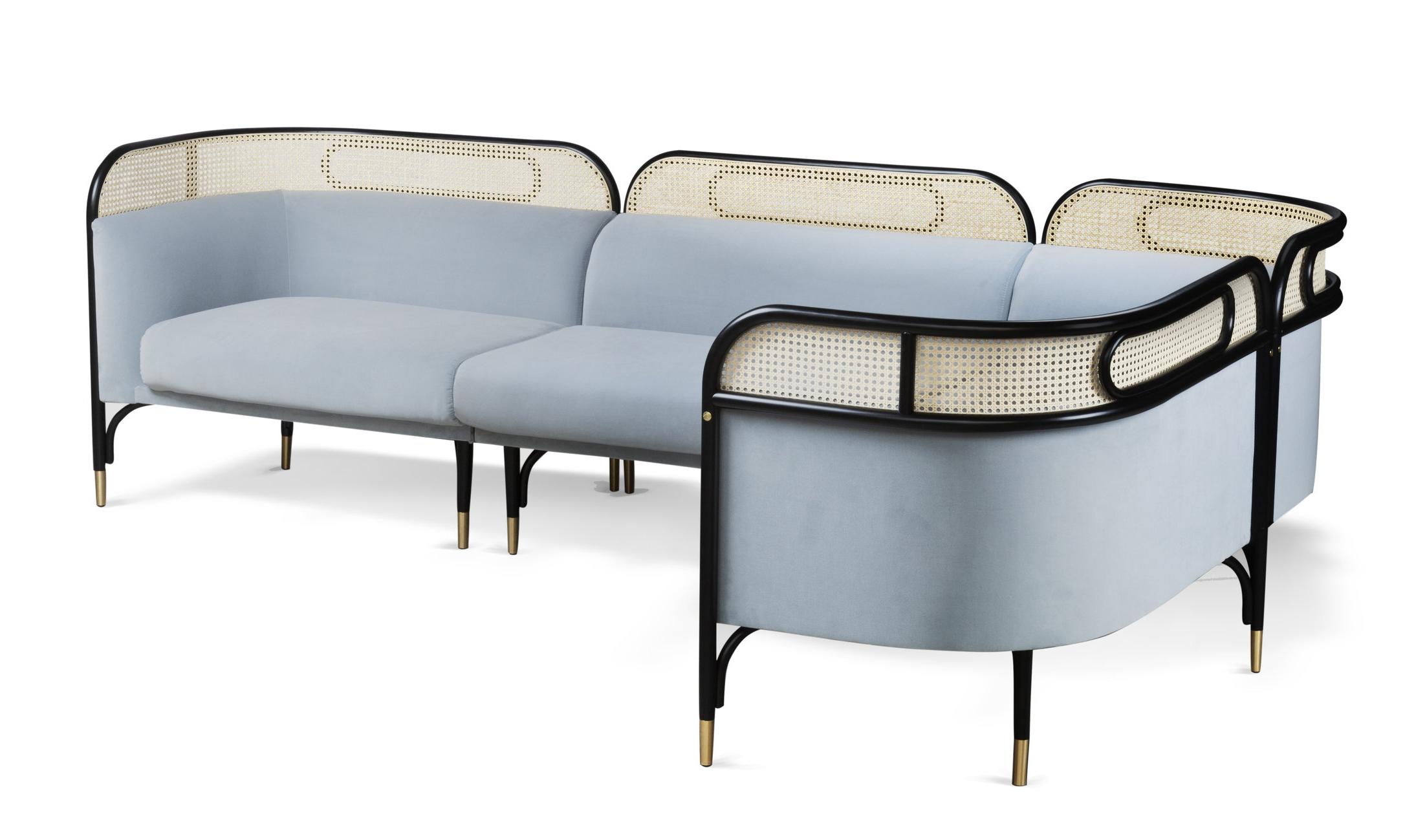 The Targa lounge designed by Italian-Danish design team Gam Fratesi for GTV.