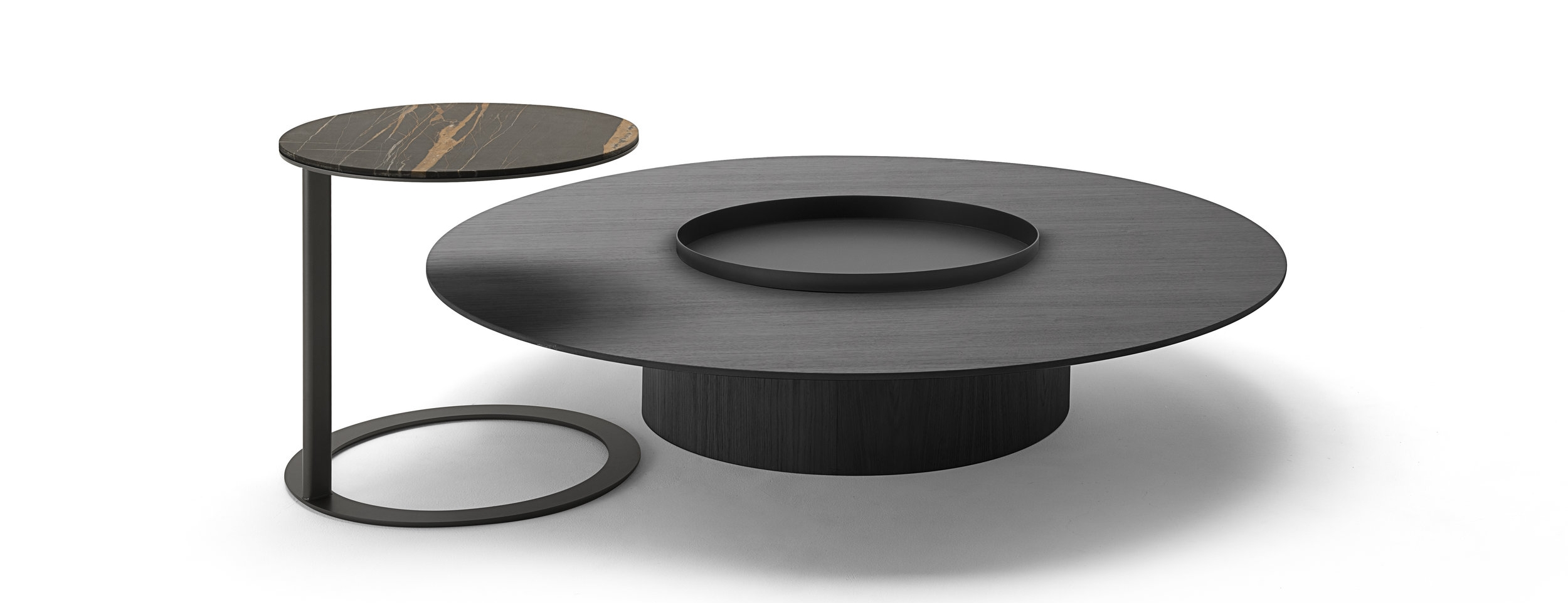 Tethys tables by Oscar and Gabriele Buratti for Living Divani.