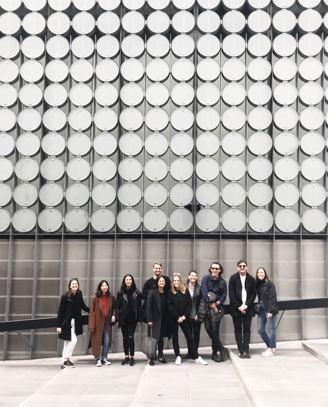 The Carr Design team joined Space for a tour of the RMIT Design Archive during Open House Melbourne. Photo © Bonnie Hamilton.