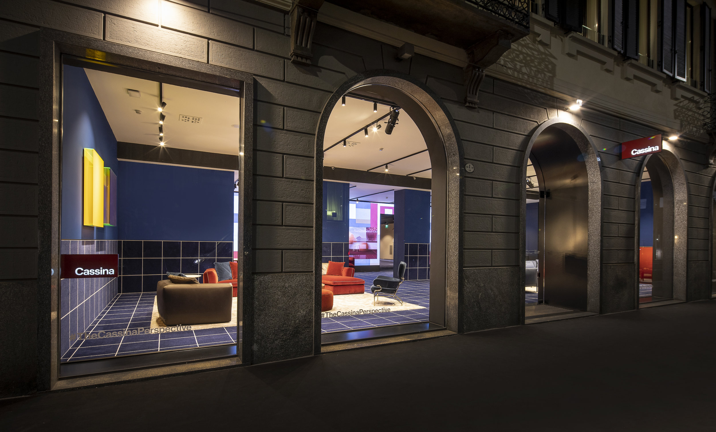 'The Cassina Perspective' installation curated by art director Patricia Urquiola. Photography © Stefano de Monte.