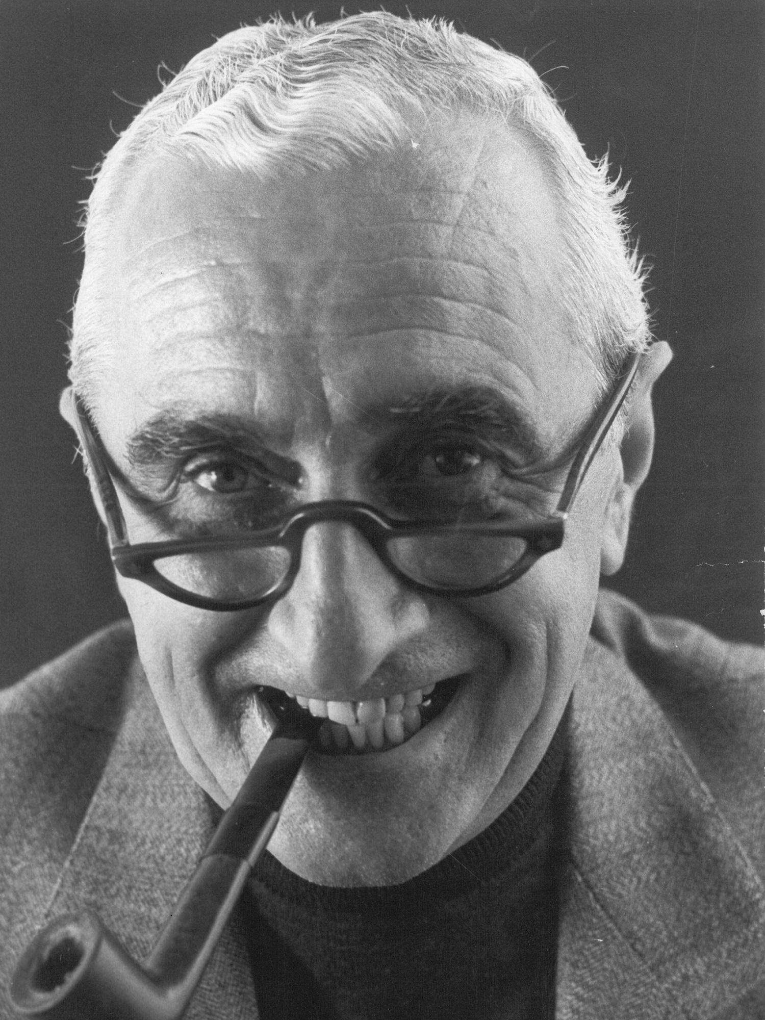Portrait of architect and designer Luigi Caccia Dominioni whose interiors and furniture helped shape post-war Milan. Photo c/o Azucena.