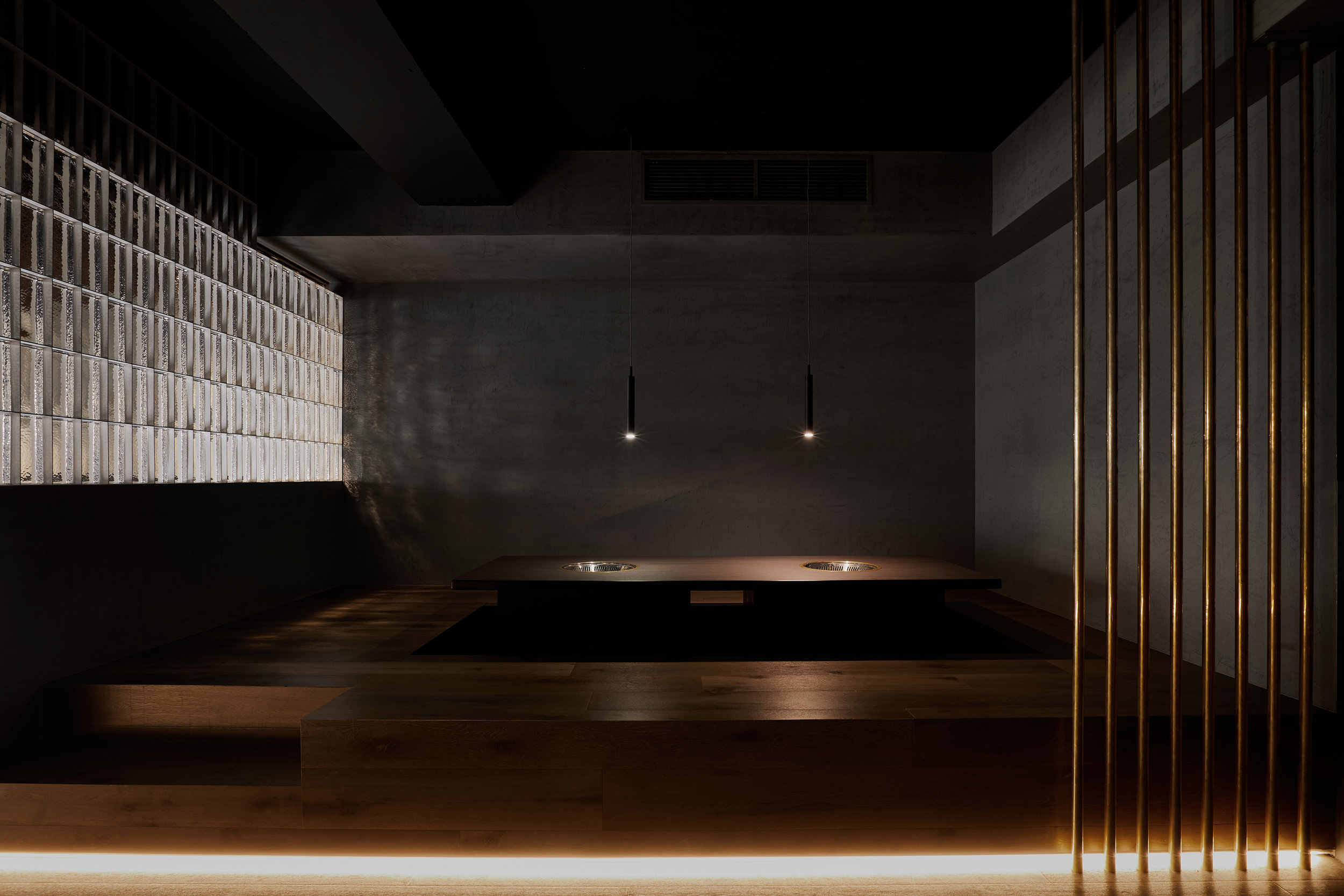 Pierce Widera received a High Commendation in the Hospitality Design category for Shinbashi restaurant at the 2019 Australian Interior Design Awards. Photo © Jana Langhorst