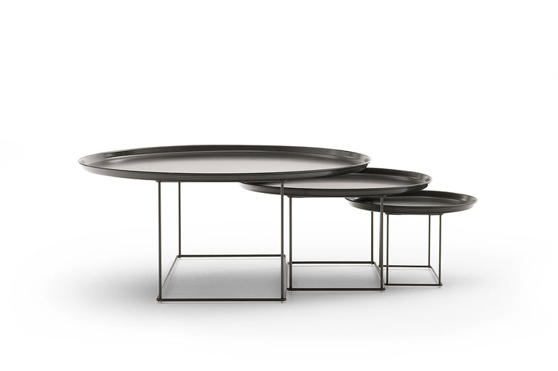 The Fat-Fat collection of side tables designed by Patricia Urquiola for B&B Italia.