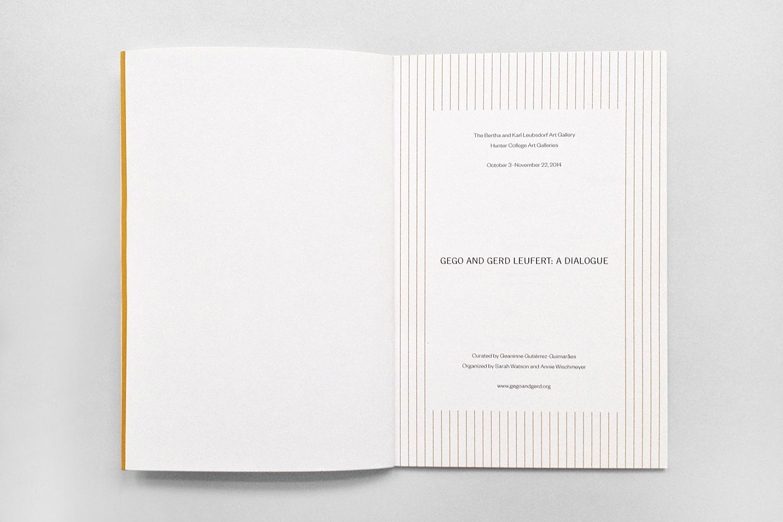 Gego and Gerd Leufert,Leubsdorf Gallery