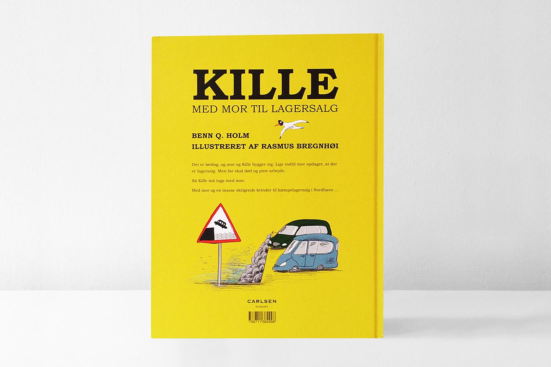 Kille med Mor by Benn Q. Holm and Rasmus Bregnhøi