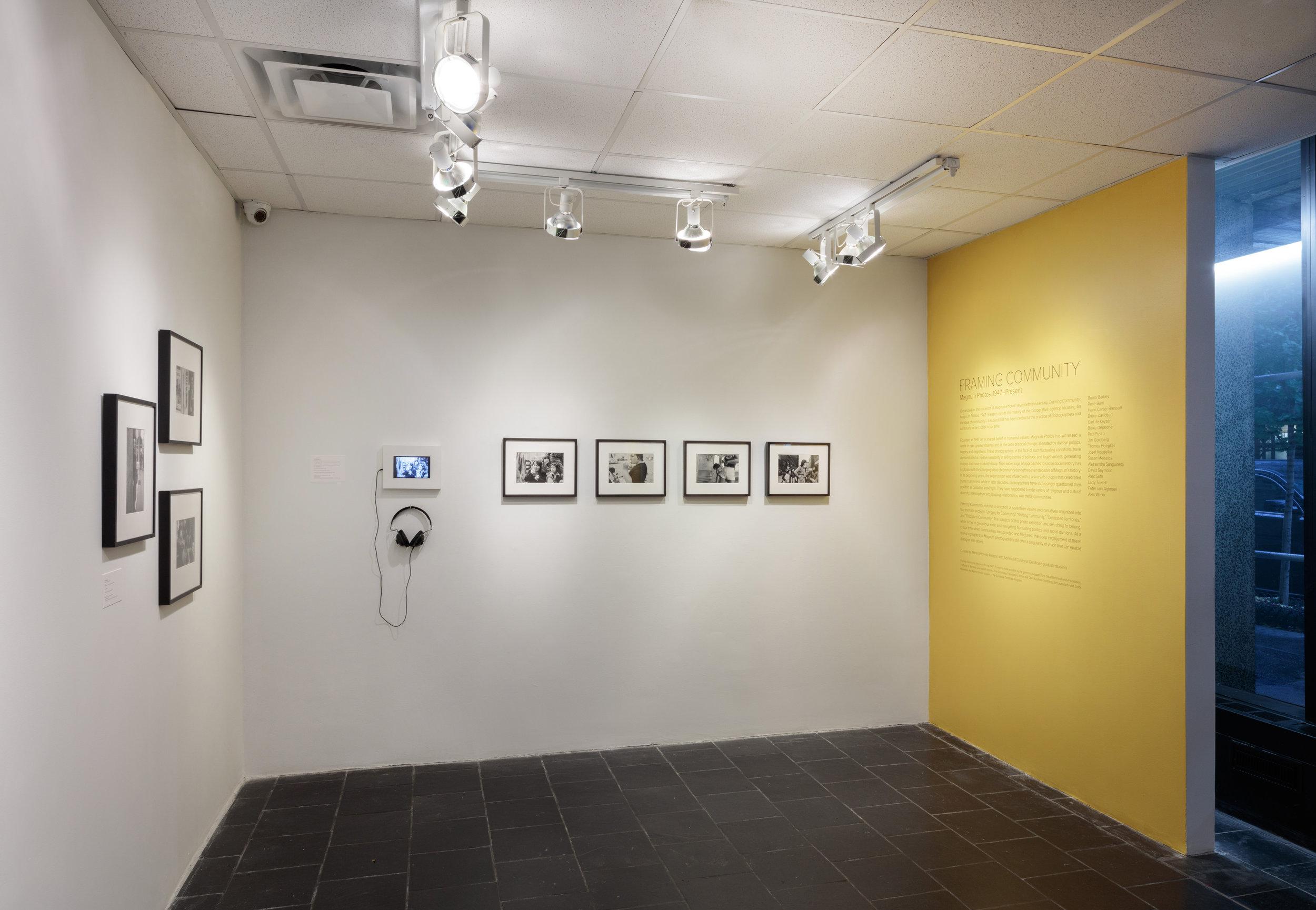 Framing Community: Magnum Photos, 1947–Present, Leubsdorf Gallery