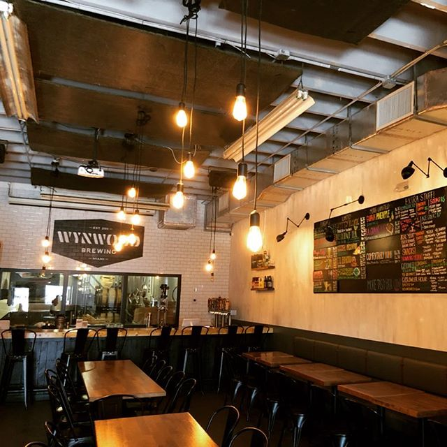 Wynwood Brewing Remodel executed by our team #tbt #miami #wynwoodbrewing