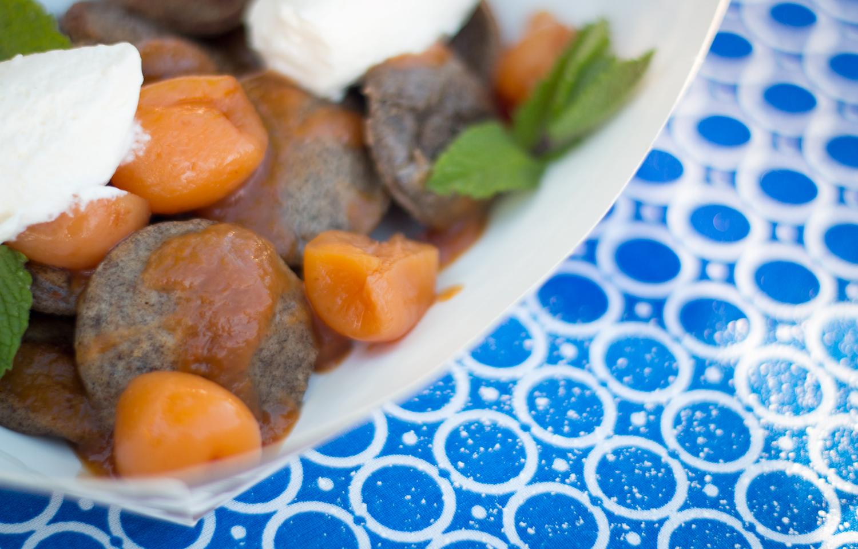 Preserve// Rainier Cherrry, Boubon-Peach, Fresh Whip