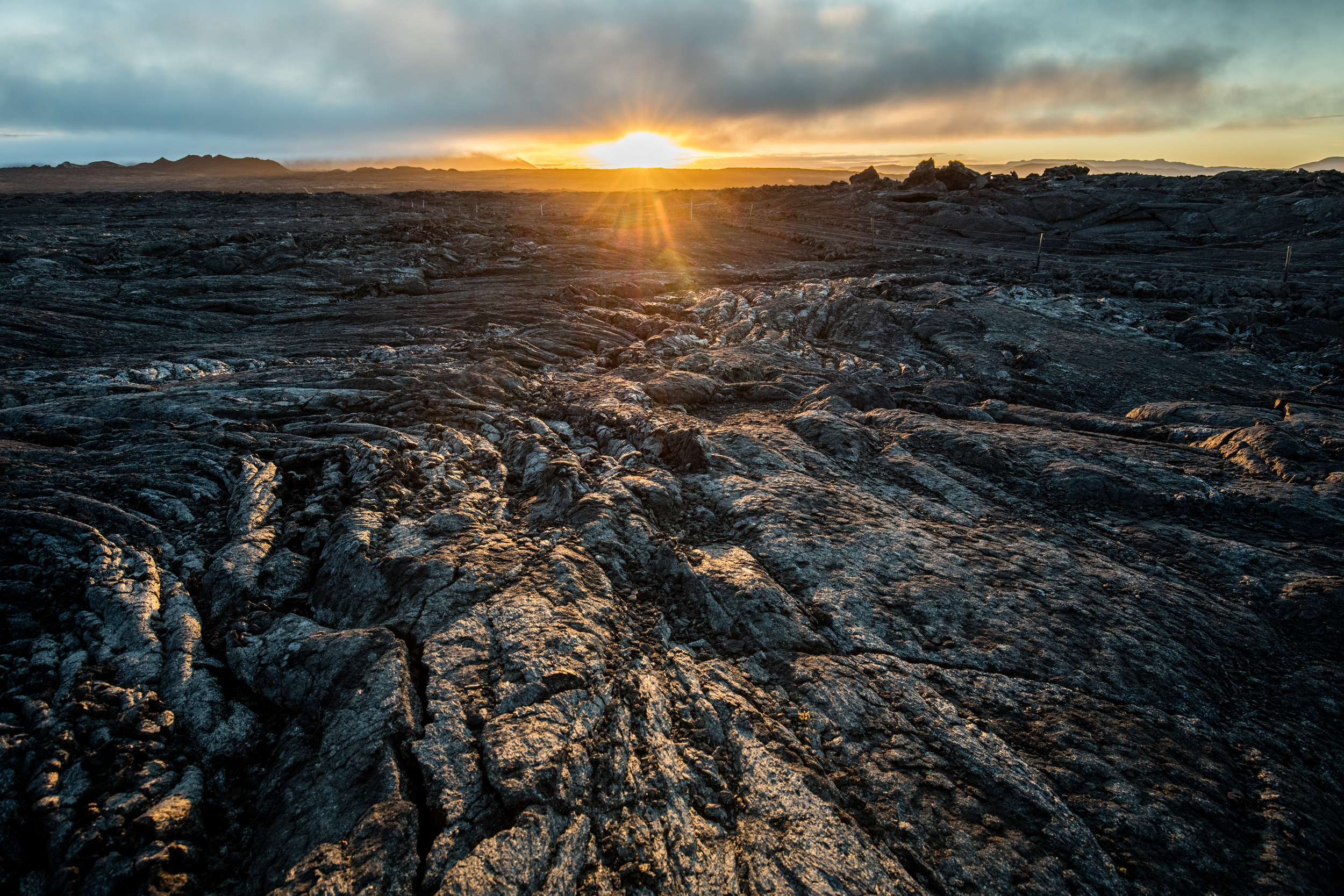 Lava Fields, North Iceland