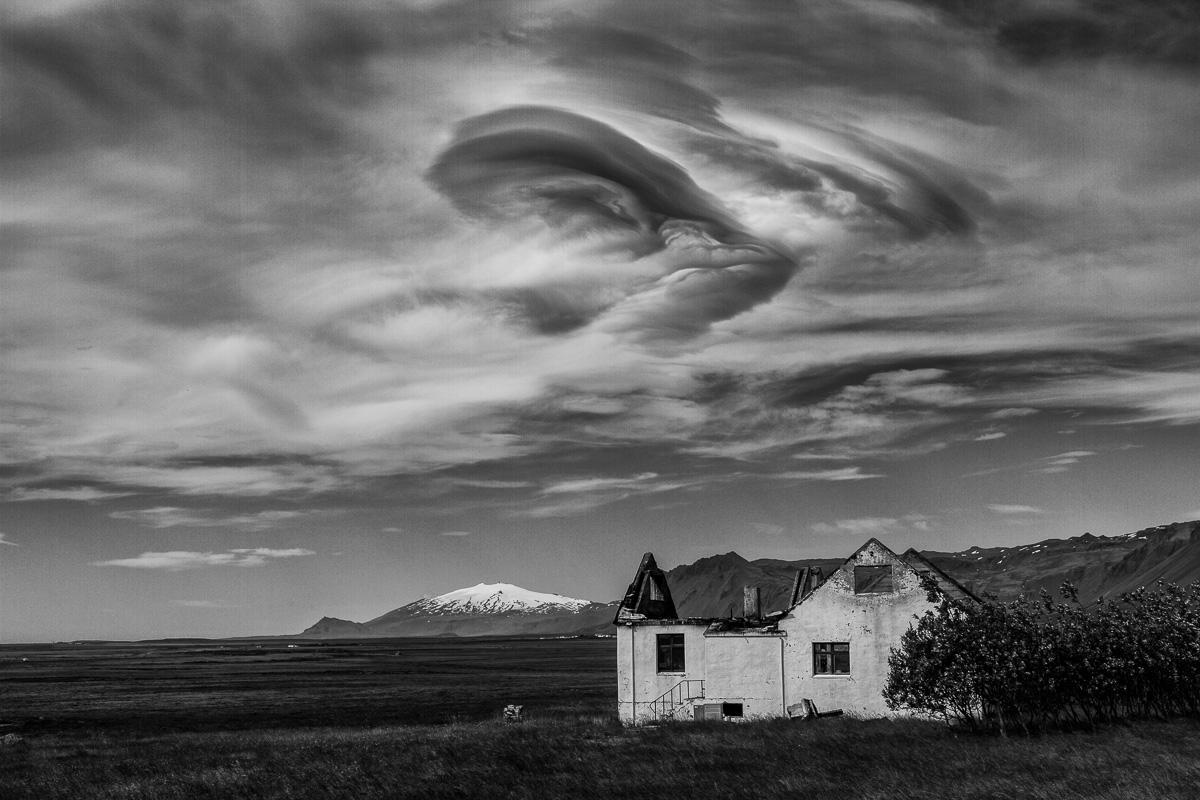 © Pete Mathews, Dramatic Sky, Snaefellsnes Peninsula