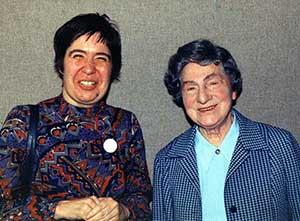 Christine Huskie and Catherine Renfrew (speech therapists)