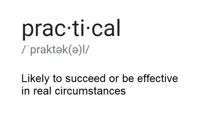 2019-06-13 Definition of Practical.png
