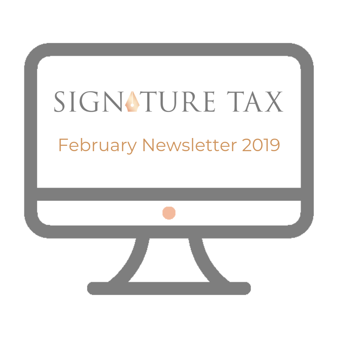 SigTax Newsletter February