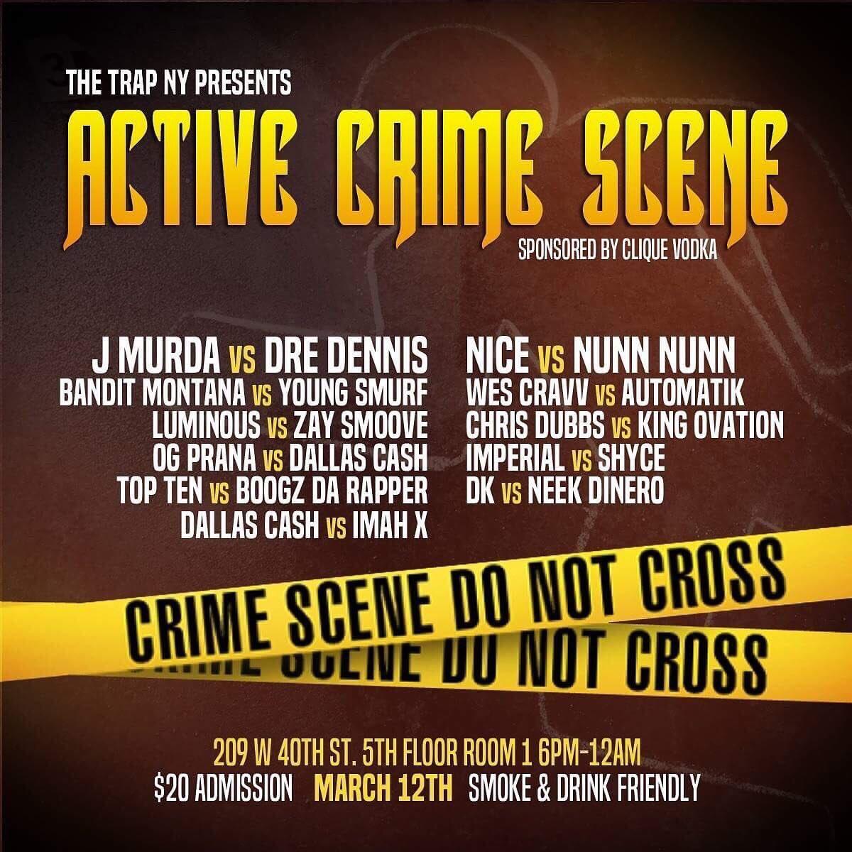 The Trap NY - Active Crime Scene