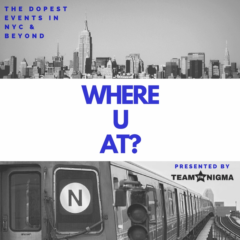 Follow TeamNIGMA to the dopest events: WhereUAt? - presented by TeamNIGMA