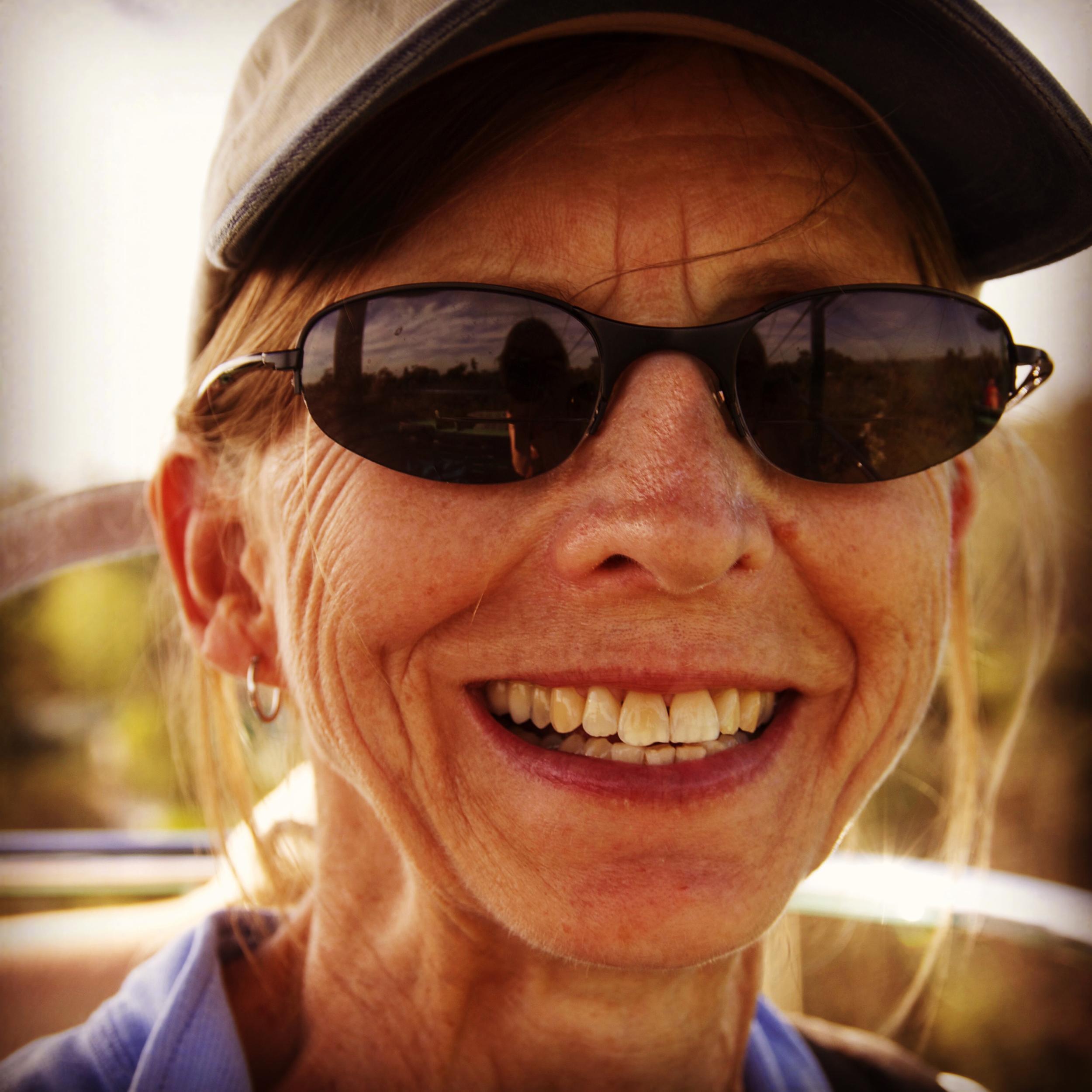 The reporter's mom, Lynn Shepherd, October 17, 2012. Stephanie Joyce.