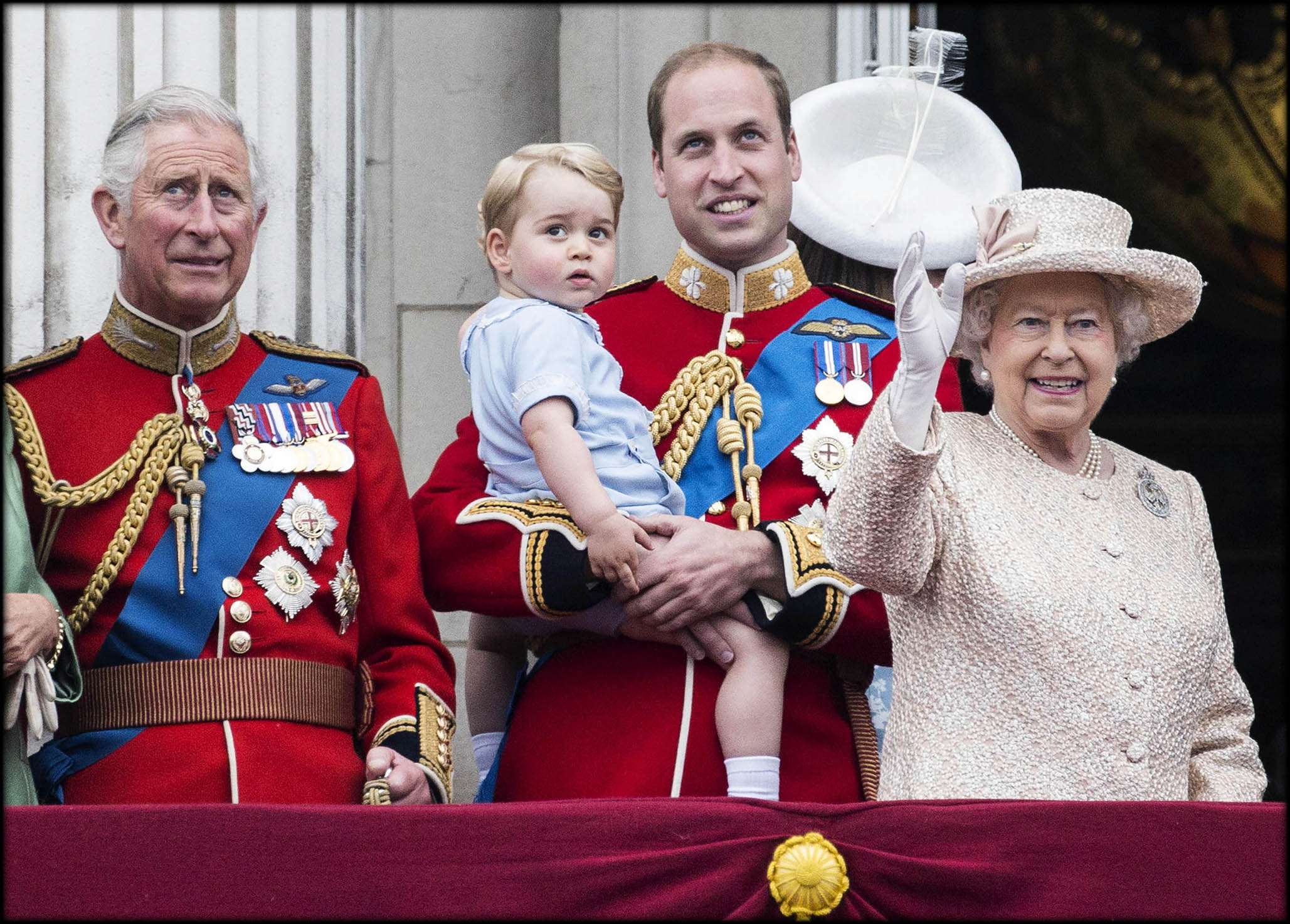 queen and three kings-in-waiting