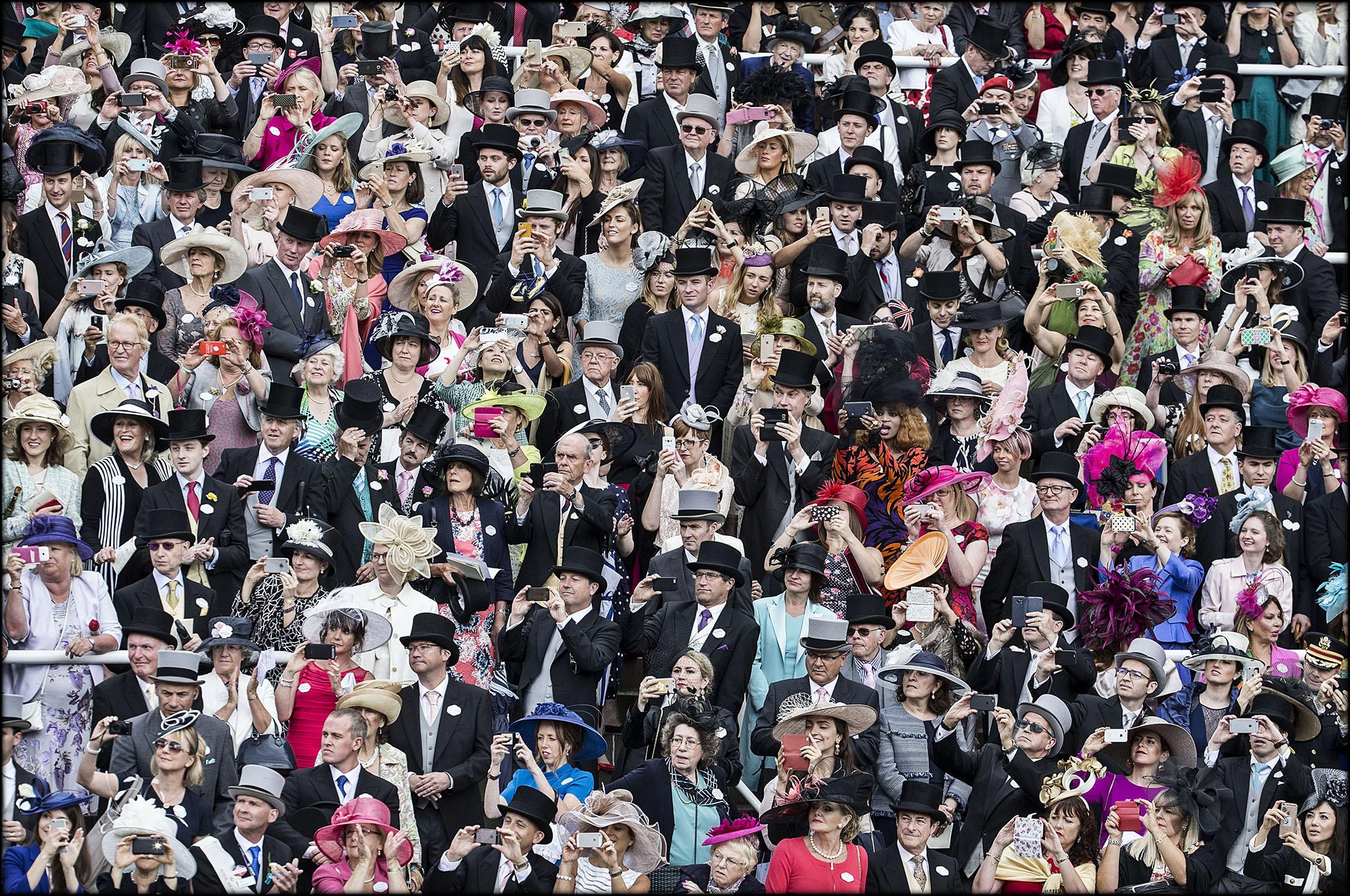 royal ascot crowd 2016
