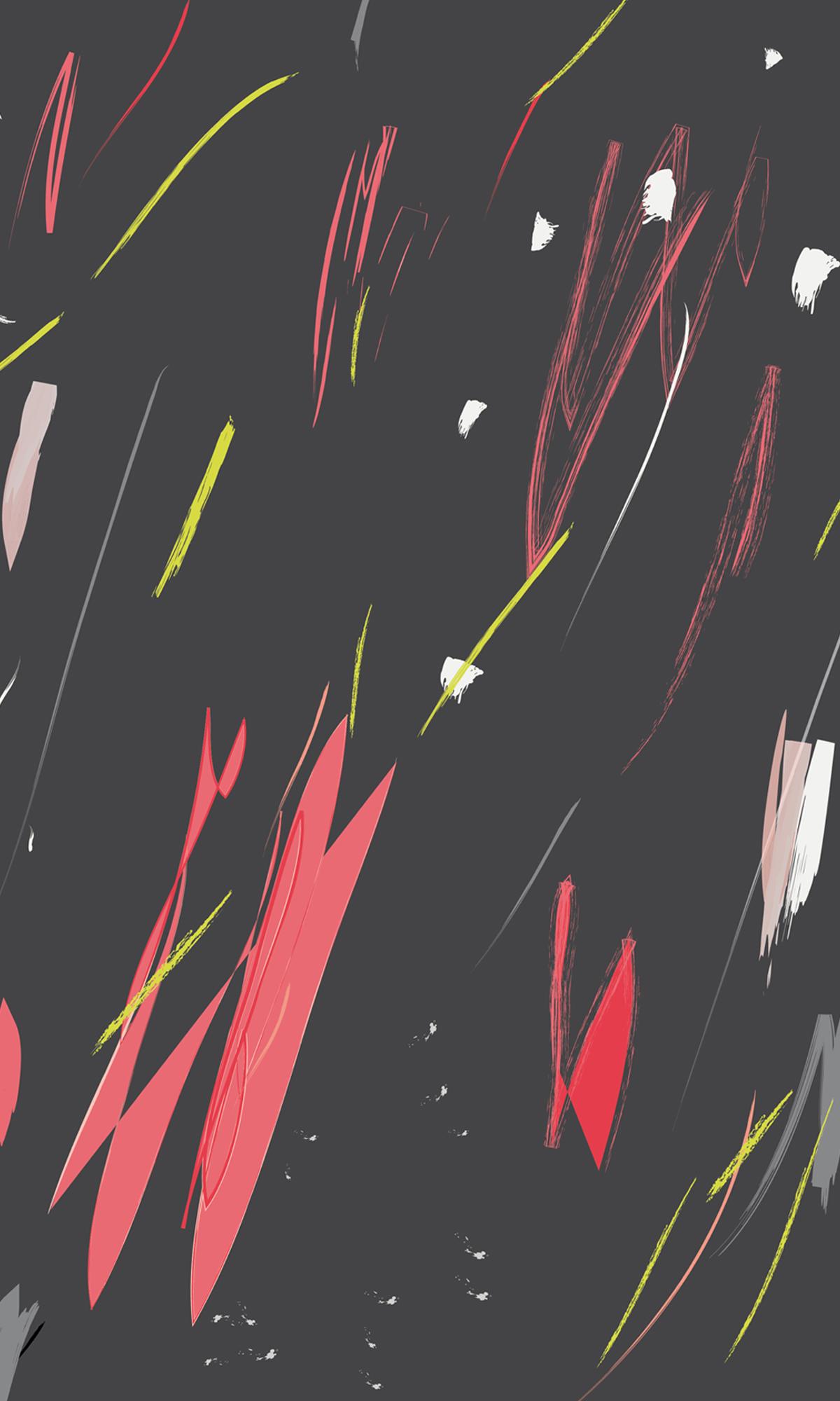 abstract pattern brush hello nobo
