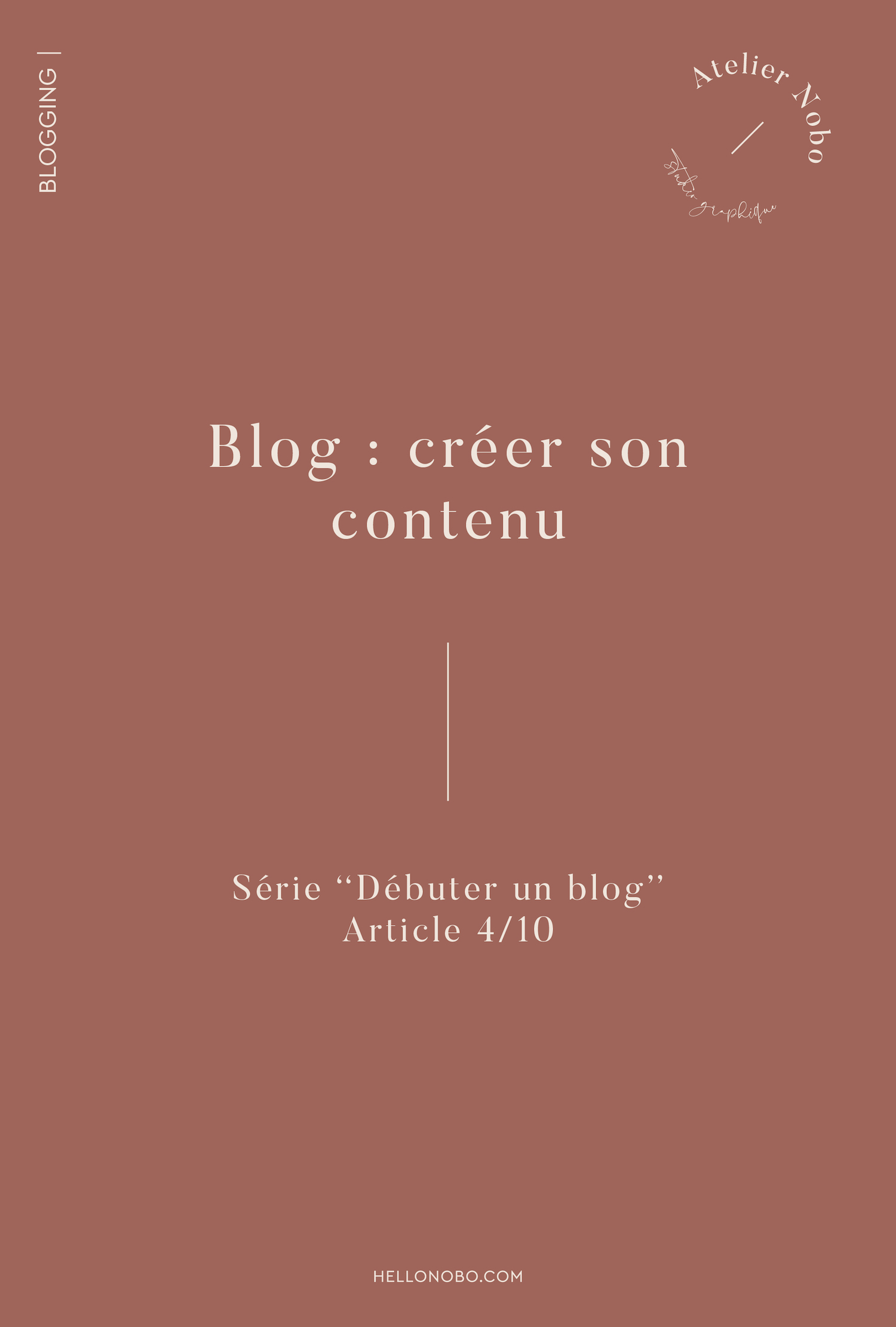 creer son contenu - hellonobo.com