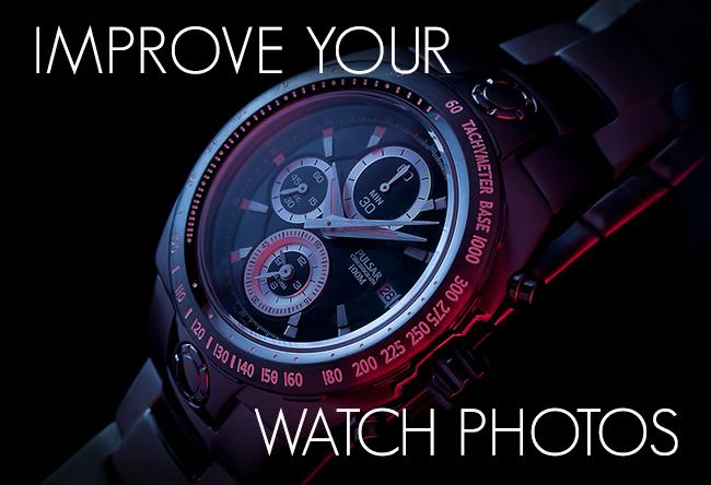Improve your watch photos