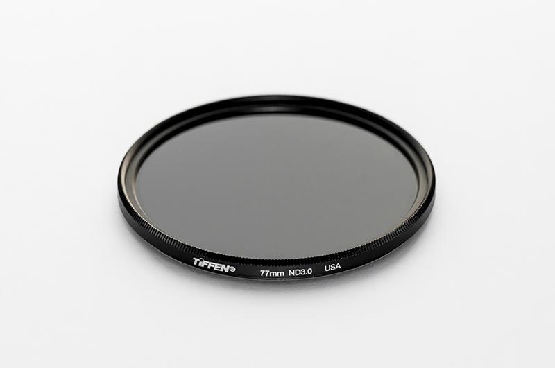 Tiffen 10 stop ND3.0 neutral density filter