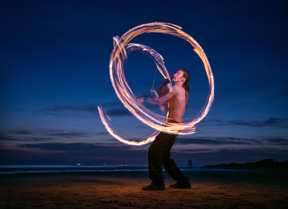 Fire Poi Photography