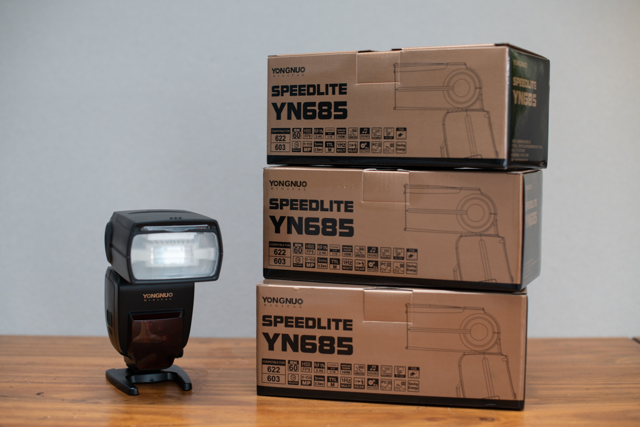 The Yongnuo Speedlite YN685 is only £85/$101