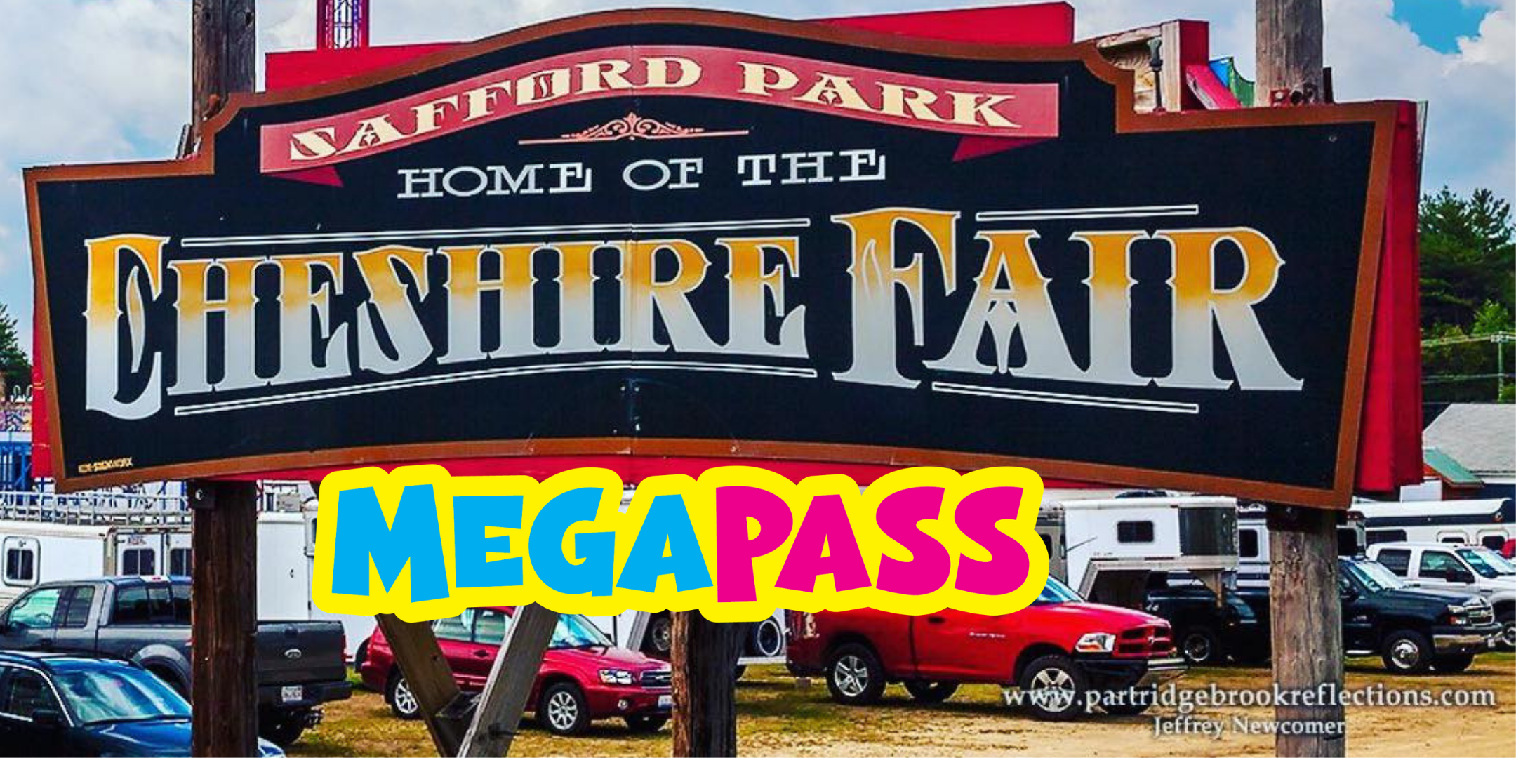 Purchase megapass tickets - 1 Day - $40Admission + Unlimited mechanical rides