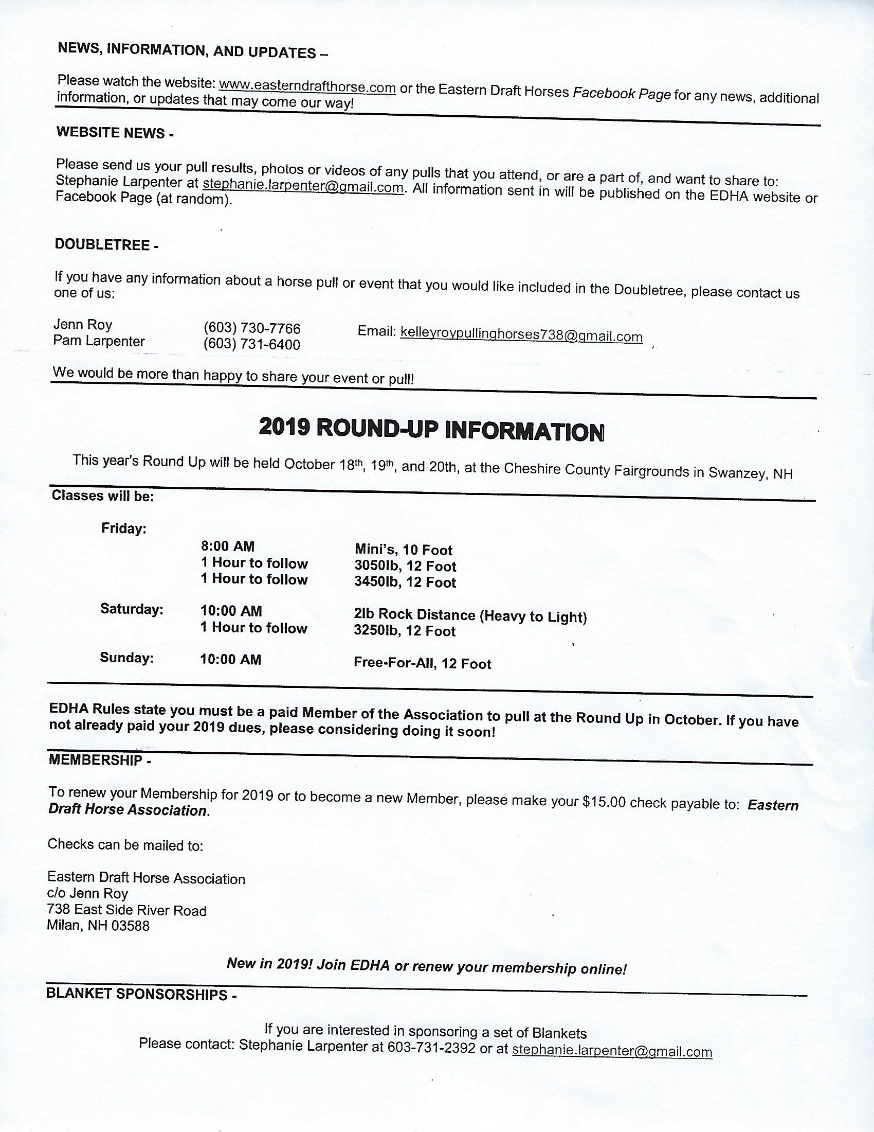 eastern draft horse pull sched 2019.png
