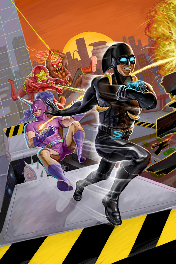 Speedrunners | tinyBuild Games | Digital Paint