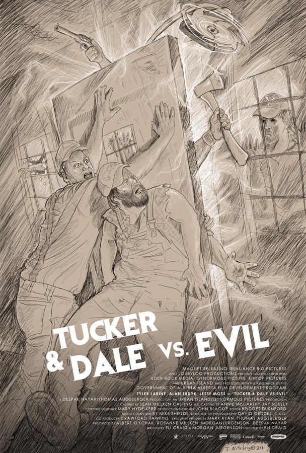 Tucker and Dale vs. Evil (unused concept) |Eli Craig | Digital Pencil
