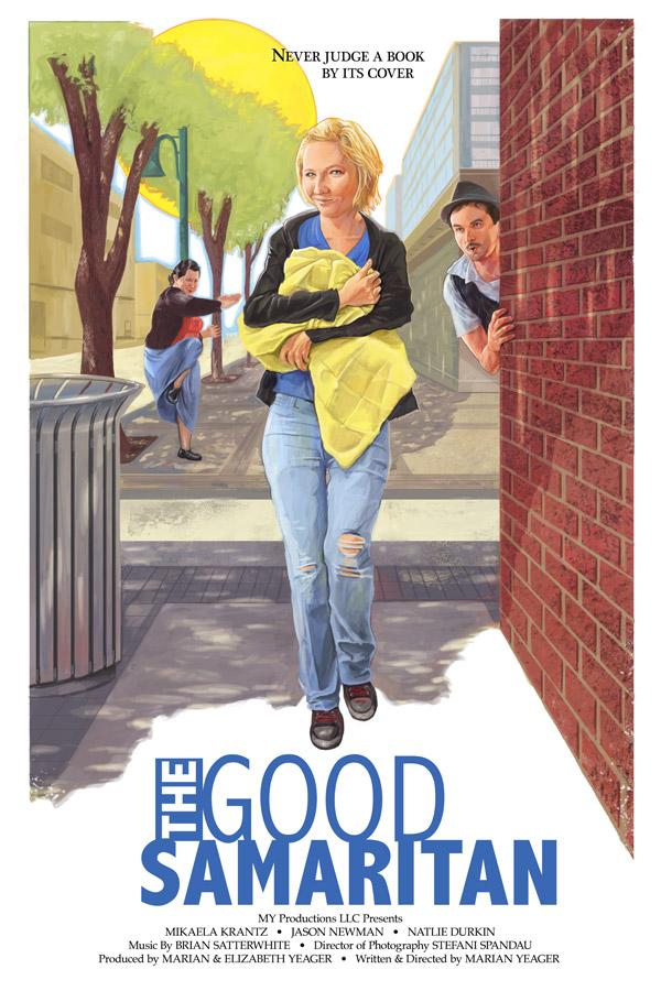 The Good Samaritan | My Productions LLC | Digital Paint