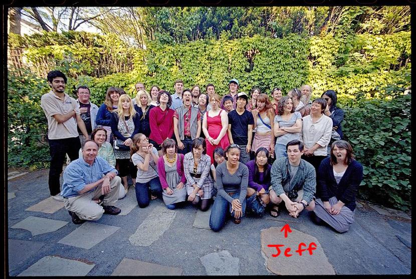 RISD 2008 FAV senior class photo. I'm still not enrolled, just sitting in.