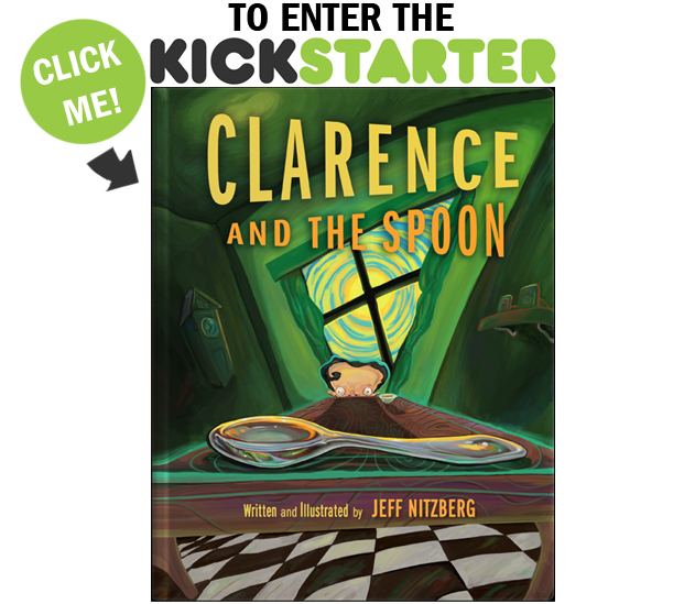 Clarence and The Spoon on Kickstarter