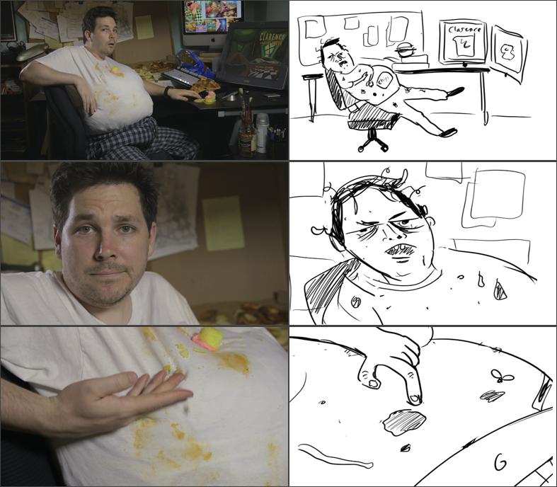 Final Video vs. Animatic
