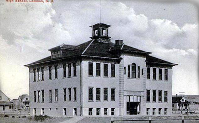 The old lemmon school house