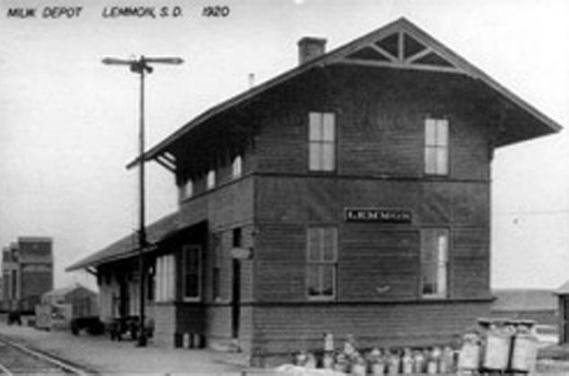 The Depot circa 1920