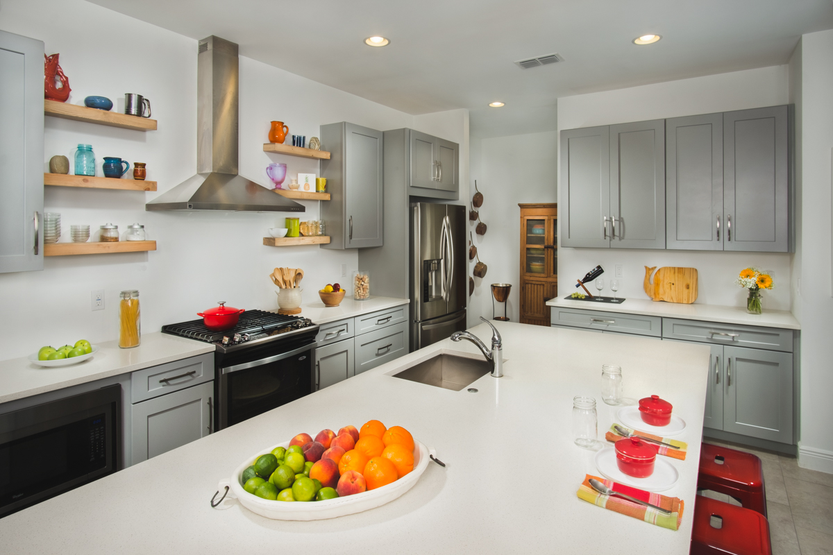 Overview of the Taggart kitchen