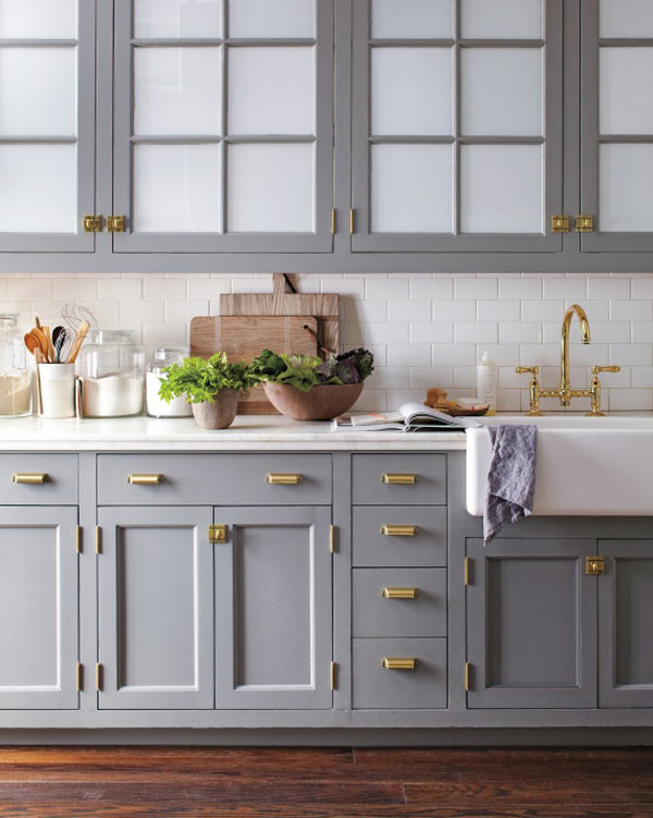 TRADITIONAL  - Kitchen by Martha Stewart // Hardware by Martha Stewart Living // Photo by Eric Piasecki