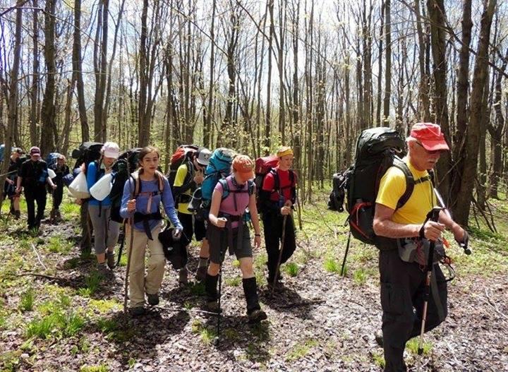 Cassadaga Valley Central School's Hiking Club