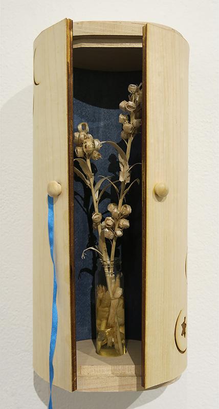 Blueberry Shrine detail