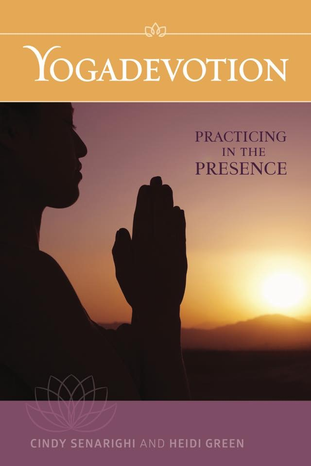 Yogadevotions book by Author and CPY member Rev. Cindy Senarighi