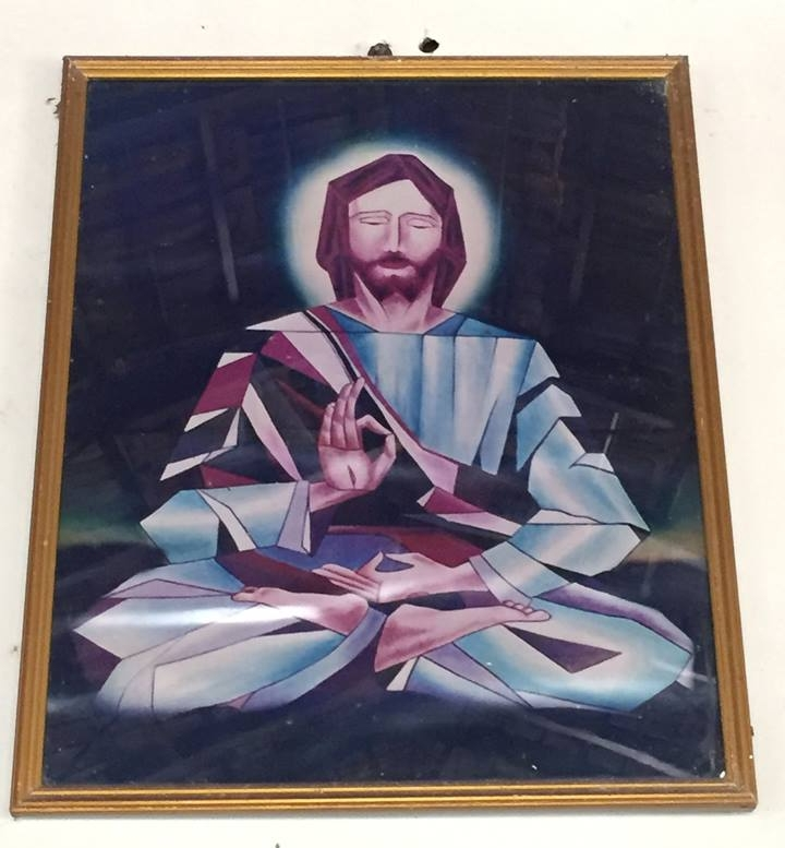 Image of Christ in the refectory.