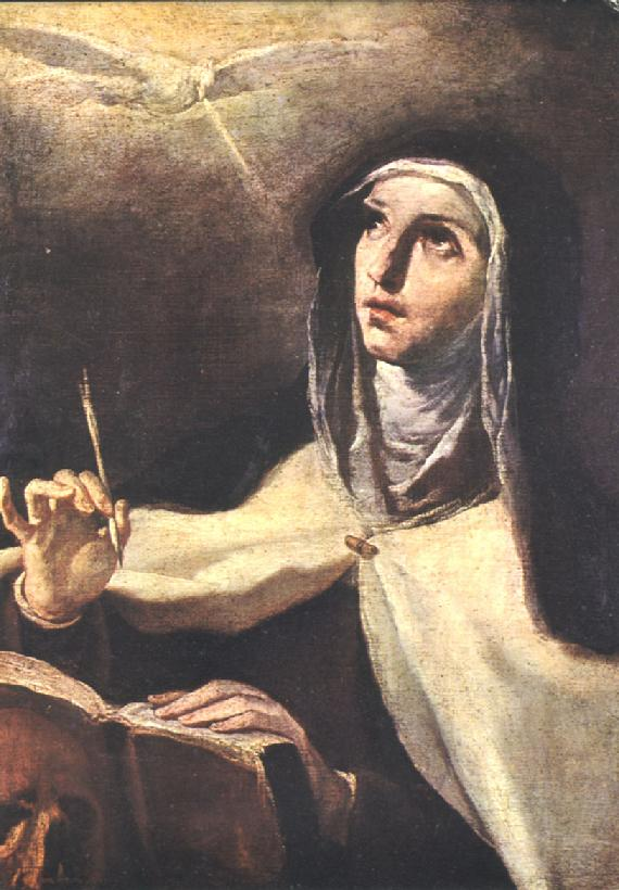 St. Teresa of Avila, a Christian Saint and Doctor of the Church, experienced the temporary paralysis of limbs.