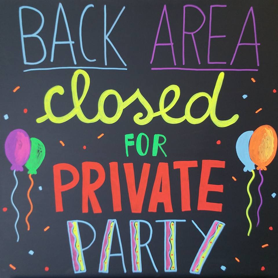 closed for a party