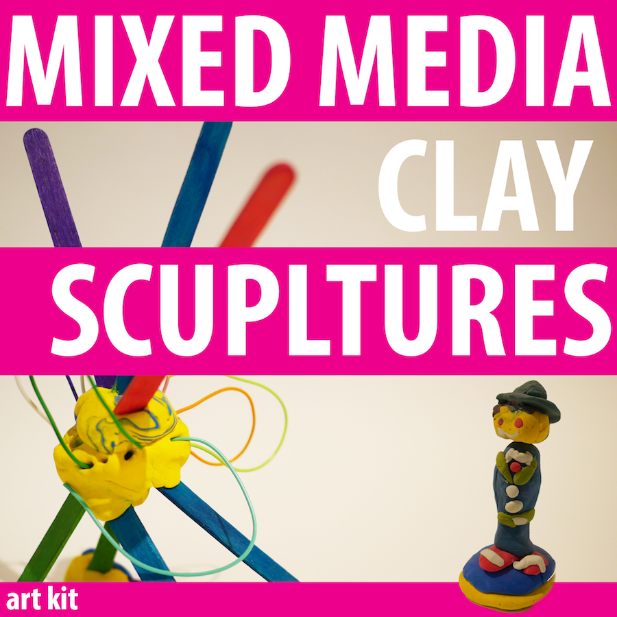 Contains two colors and white packs of Crayola Model Magic Clay, along with popsicle sticks, twisteez wire, feathers and googly eyes. Perfect for kids age 3-103 to make fun 3-D masterpieces! Perfect for kids age 2 and up.