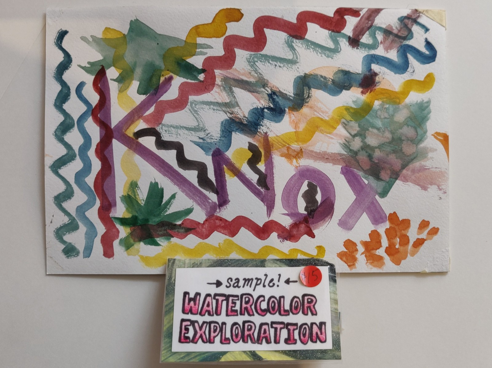 Watercolor Exploration
