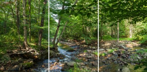 Scott Jost's panoramic shots document the different waterways of the Chesapeake Bay Watershed